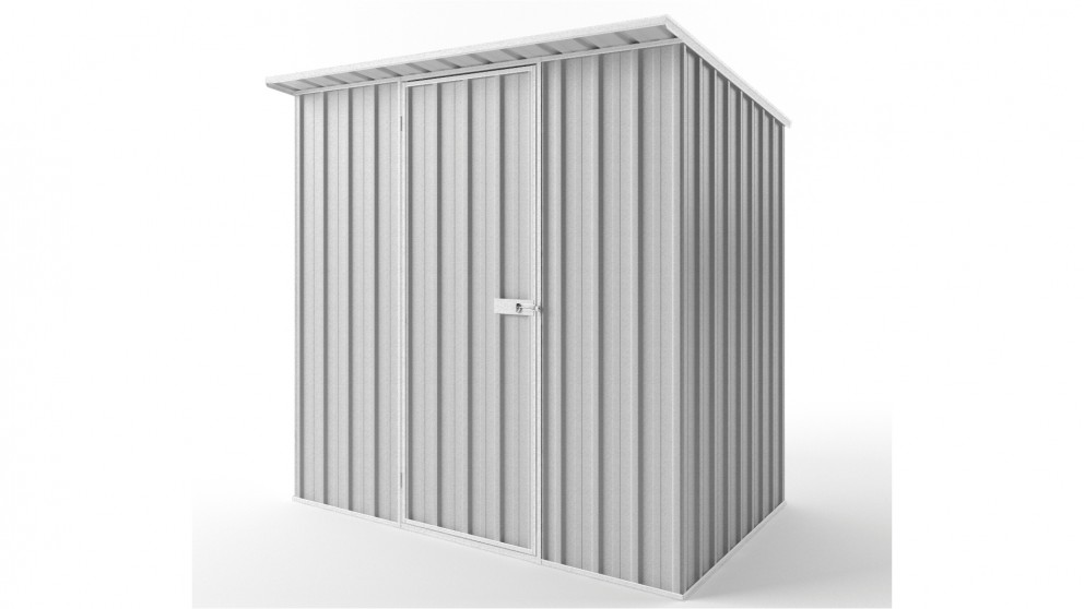 EasyShed S2315 Skillion Roof Garden Shed - Zincalume