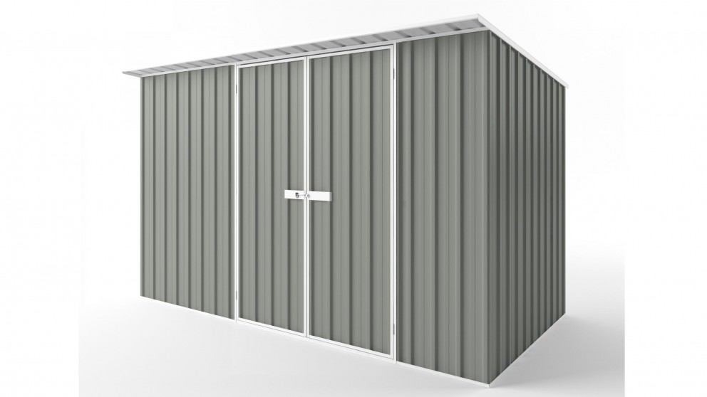 EasyShed D3819 Skillion Roof Garden Shed - Bush Smoke