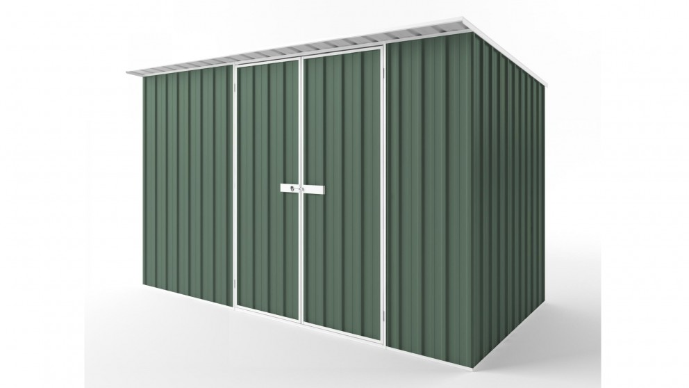 EasyShed D3819 Skillion Roof Garden Shed - Rivergum