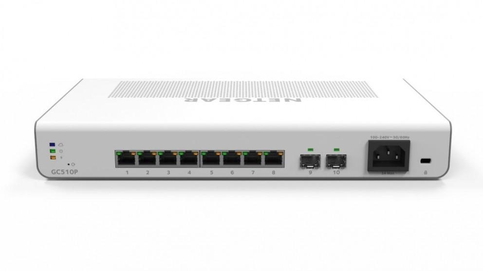 Netgear Insight Managed 8 Port Gigabit Ethernet PoE Plus Smart Cloud Switch