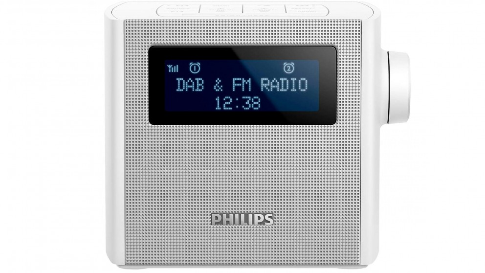 Philips Portable DAB+/FM Clock Radio