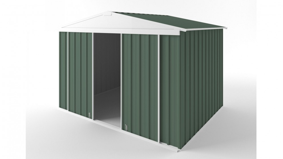 EasyShed D3023 Gable Slider Roof Garden Shed - Rivergum