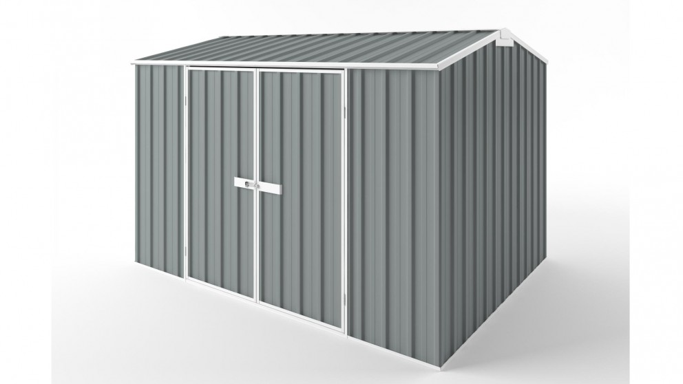 EasyShed D3023 Gable Roof Garden Shed - Armour Grey