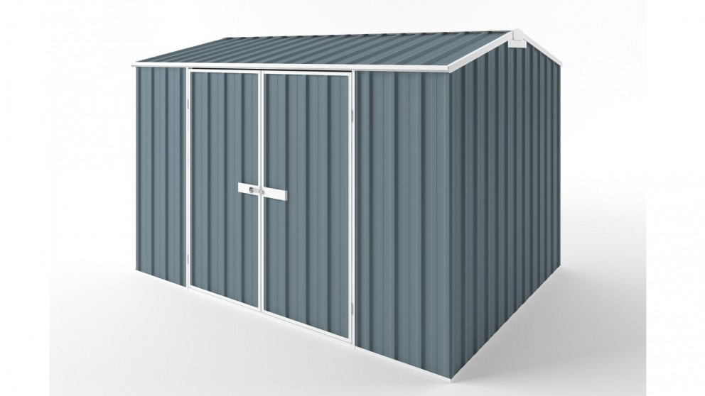 EasyShed D3023 Gable Roof Garden Shed - Blue Horizon
