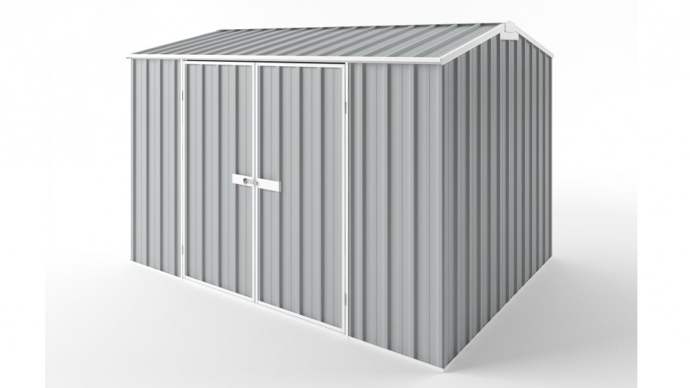 EasyShed D3023 Gable Roof Garden Shed - Gull Grey