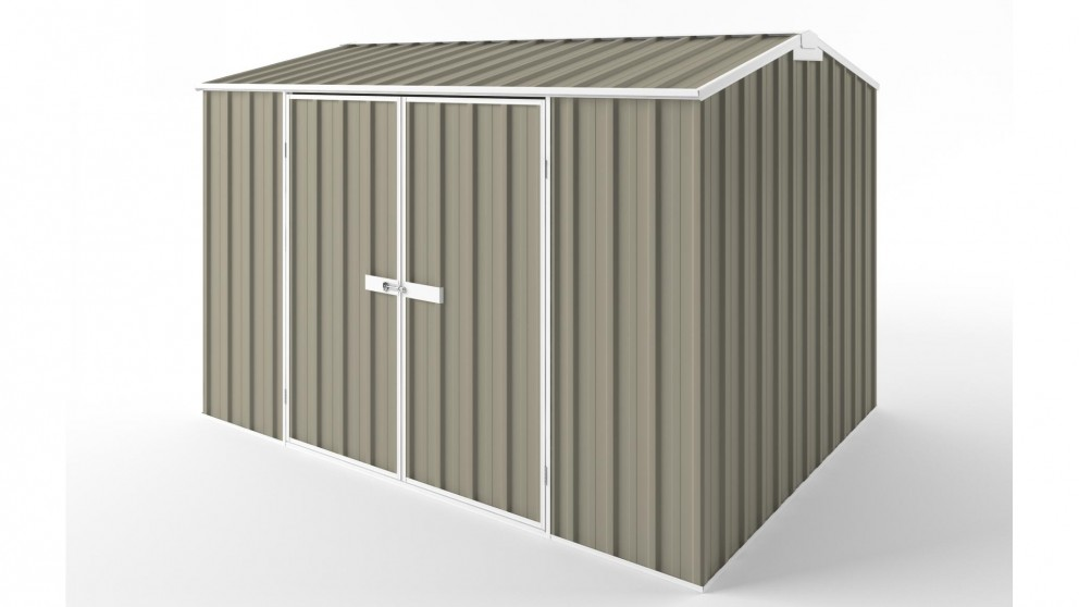 EasyShed D3023 Gable Roof Garden Shed - Stone