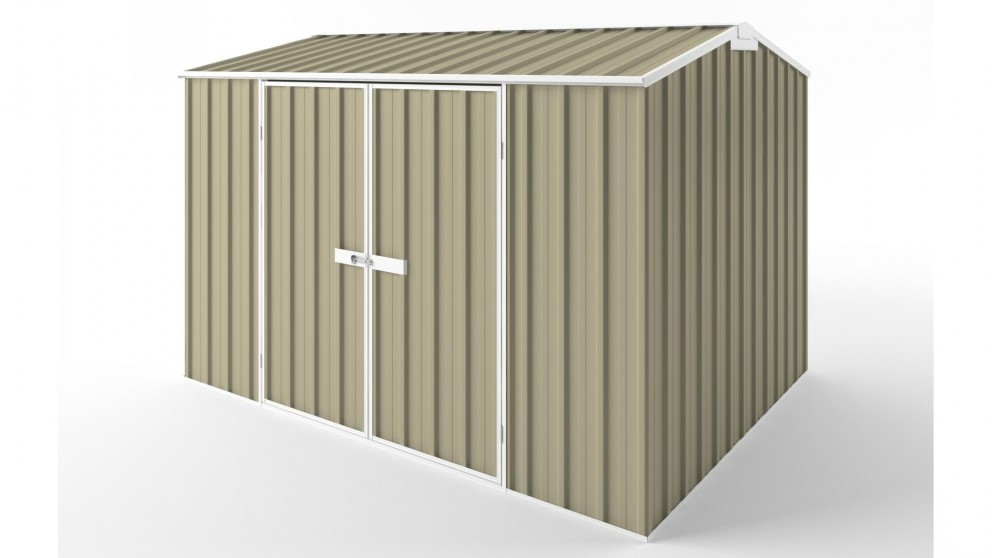 EasyShed D3023 Gable Roof Garden Shed - Wheat