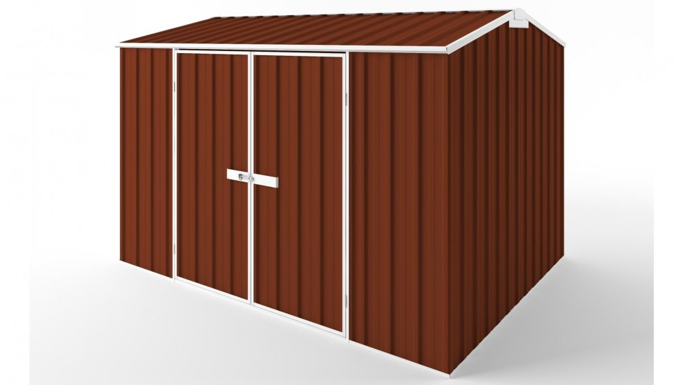 EasyShed D3023 Gable Roof Garden Shed - Tuscan Red