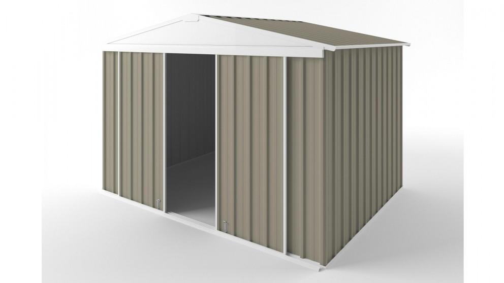 EasyShed D3023 Gable Slider Roof Garden Shed - Stone
