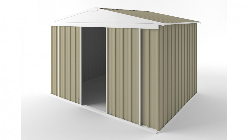 EasyShed D3023 Gable Slider Roof Garden Shed - Wheat