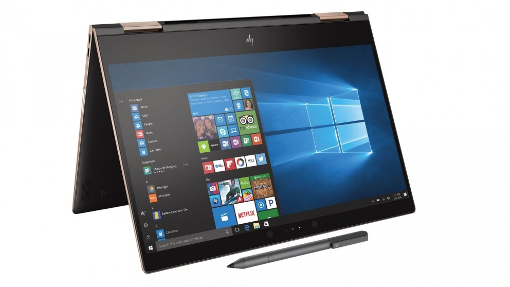 HP Spectre X360 13.3-inch 2-in-1 Modern PC Laptop - Ash Copper