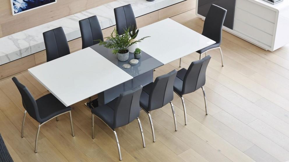 Dallas 9 Piece Rectangular Extension Dining Suite