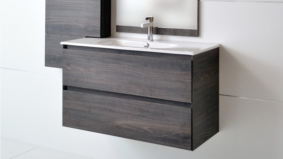 buy adp holly 750 wall hung vanity harvey norman au On bathroom cabinets harvey norman