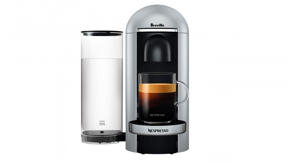 Breville Nespresso Vertuo Plus Coffee Machine - Silver