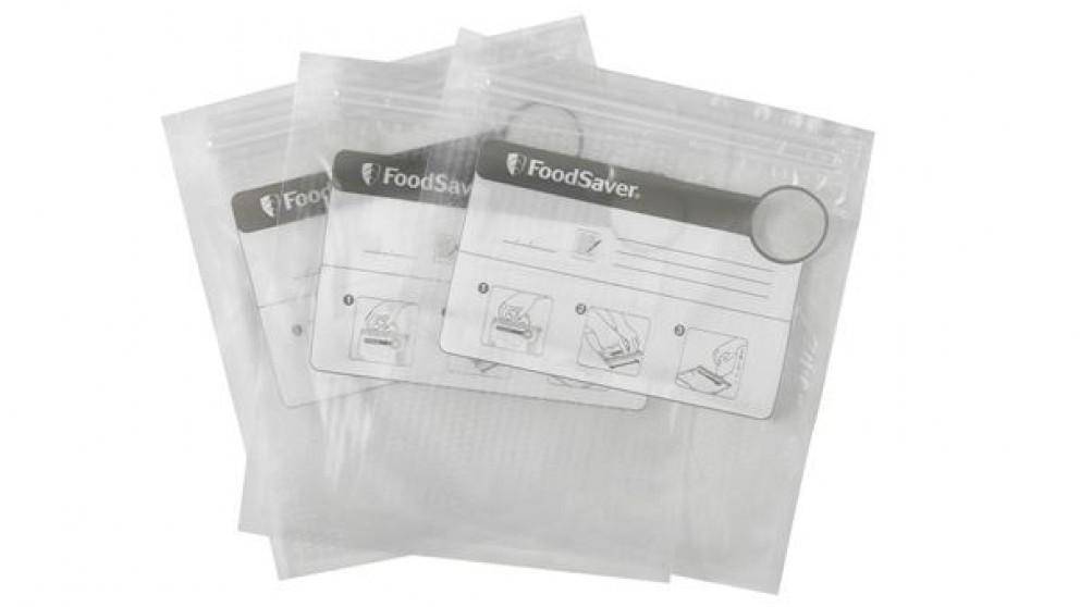 Sunbeam FoodSaver 35 Pack 950ml Zipper Bags