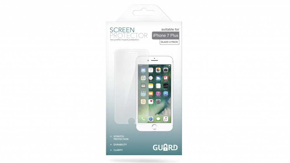 Guard Screen Protector for iPhone 7 Plus / 8 Plus - 2 Pack