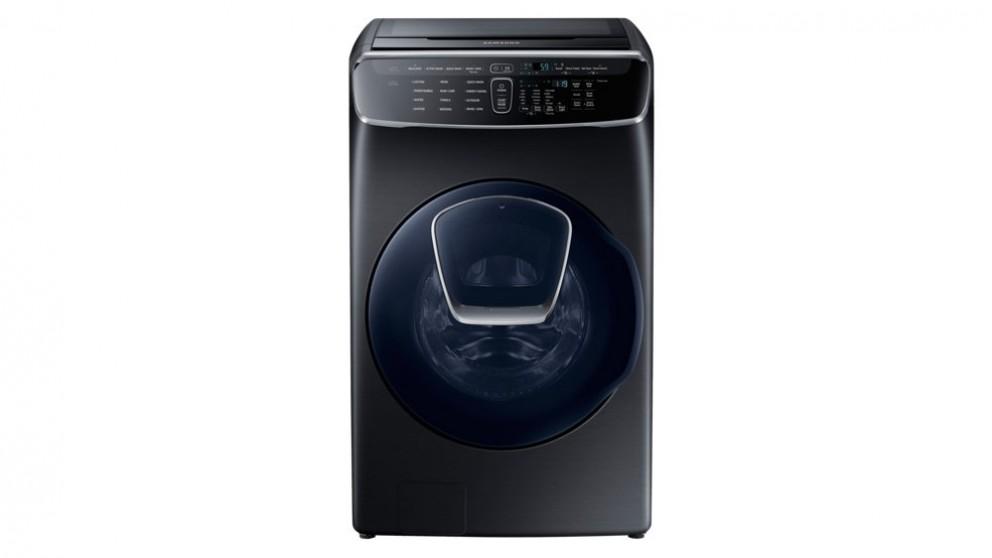 Samsung 16kg FlexWash All in One Washing Machine - Stainless Black