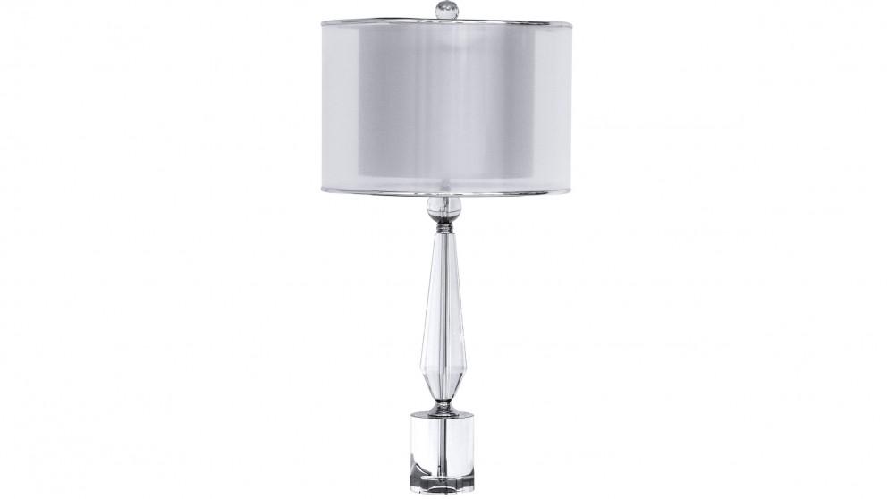 Ada Sheer Shade Crystal Table Lamp
