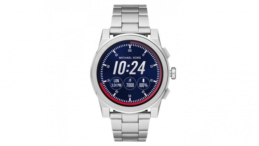 Michael Kors Access Grayson Smart Watch - Silver