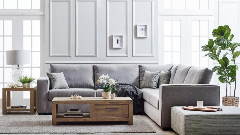 Brighton Fabric Modular Lounge Suite
