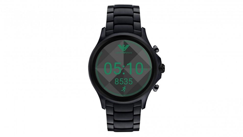 Emporio Armani Display Smart Watch - Black