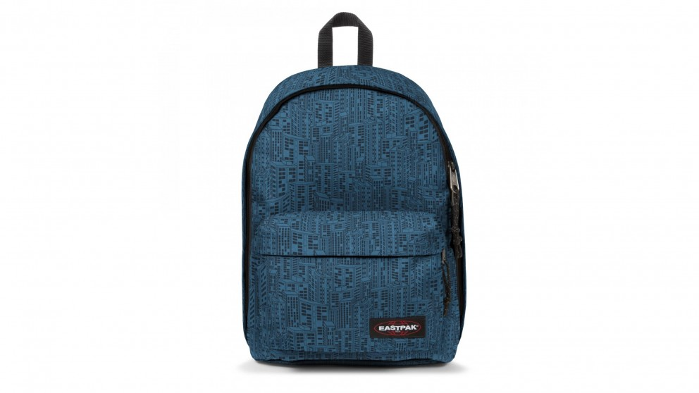 Eastpak Out of Office Laptop Bag - Navy Blocks