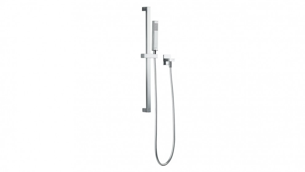 Bravat Arc Hand Shower on Rail - Chrome