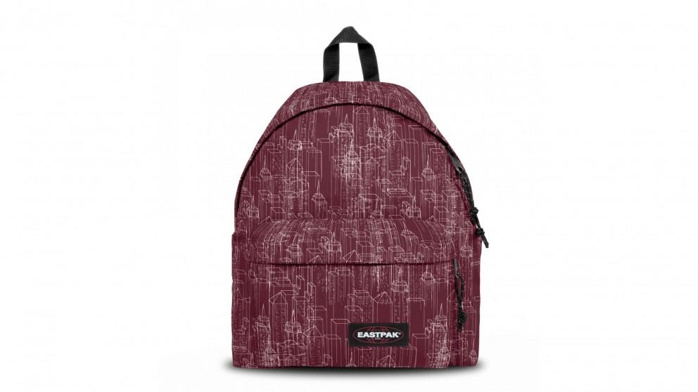 Eastpak Padded Pak'r Laptop Bag - Merlot Blocks