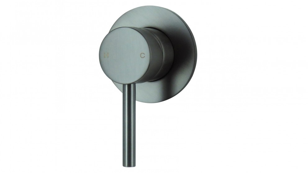 Arcisan Axus Pin Lever Bath/Shower Mixer - Brushed Gun Metal