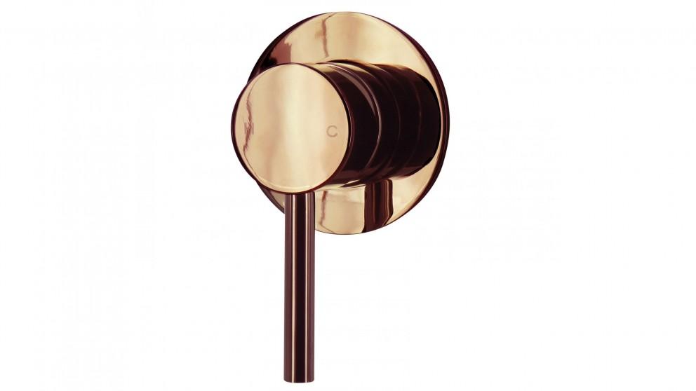 Arcisan Axus Pin Lever Bath/Shower Mixer - Rose Gold PVD