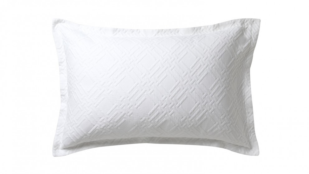 Fitzroy Long Cushion - White