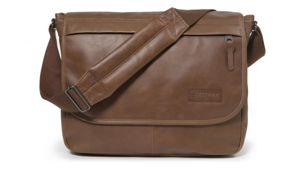 Eastpak Delegate Laptop Bag - Brownie Leather