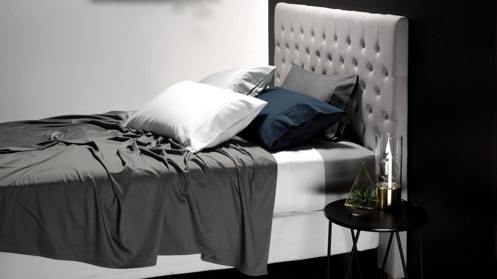 L'Avenue 500 Thread Count Double Sheet Set - Steel
