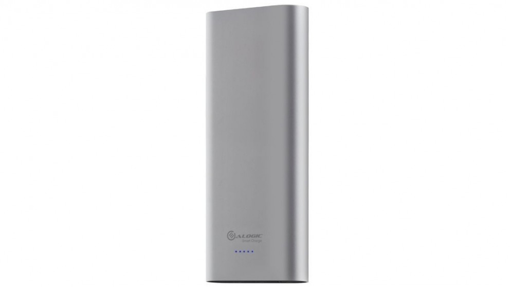 Alogic 20100mAh USB-C Portable Power Bank with Dual Output - Space Grey