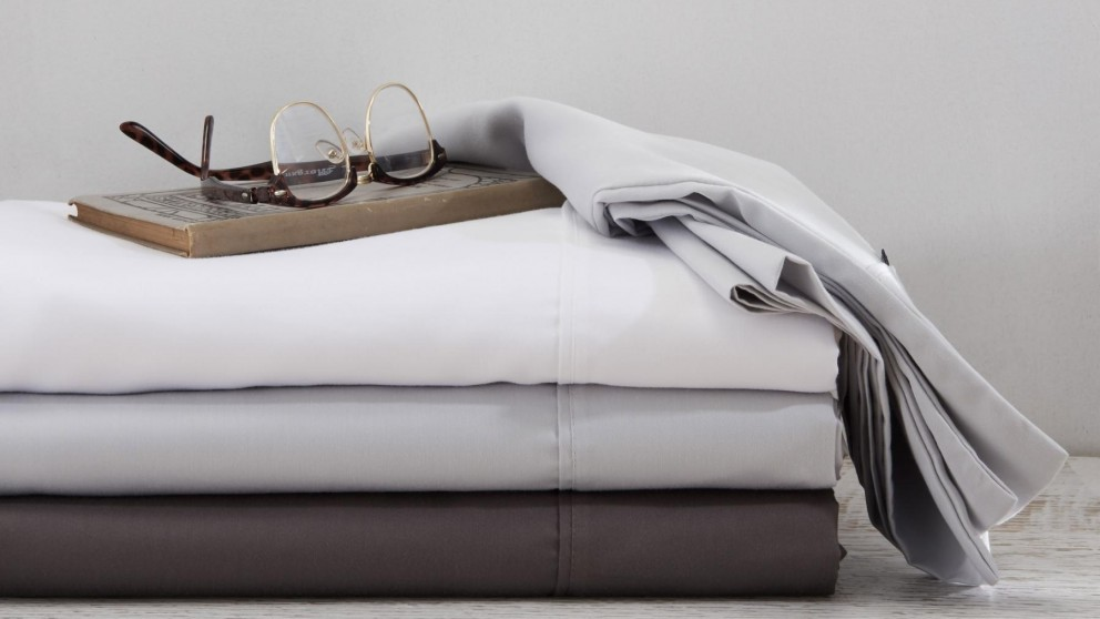 Kingston Bright White 1500TC Queen Sheet Set