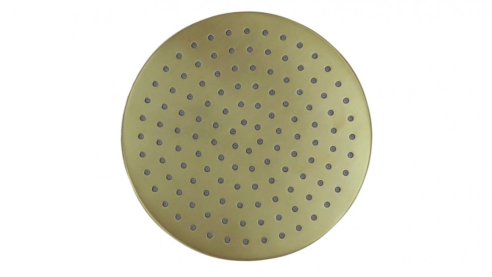 Arcisan Synergii Round Brushed Brass Shower Head