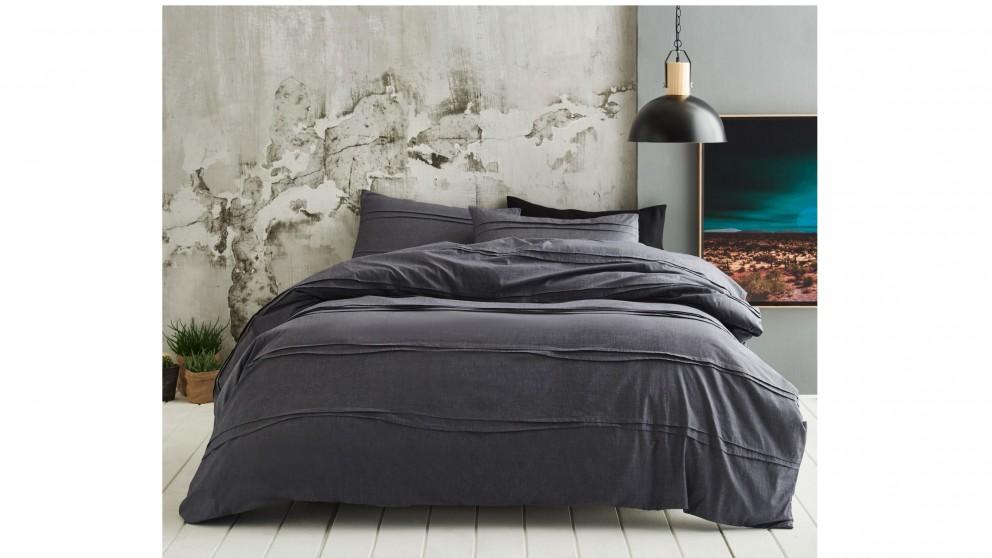 Dixon Grey Quilt Cover Set