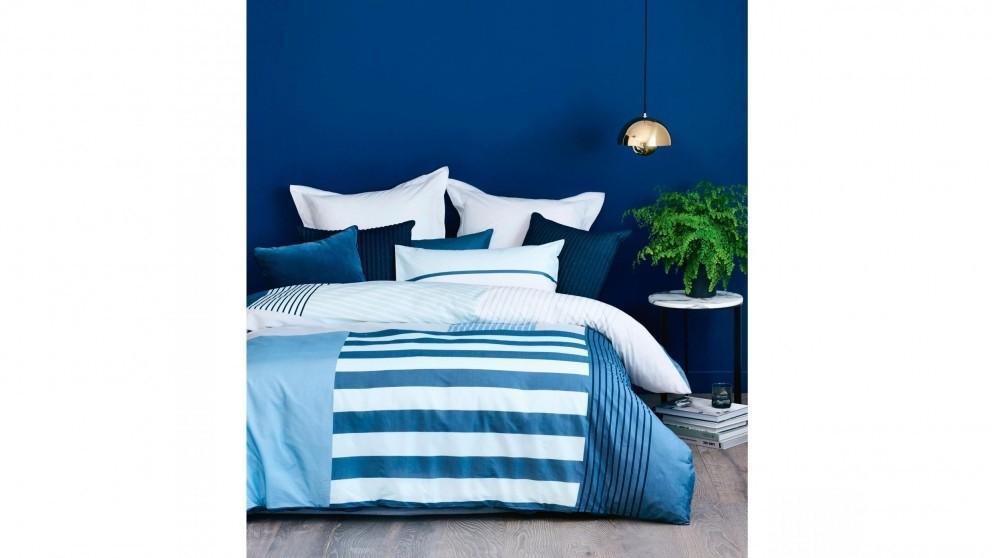 Noma Blue Quilt Cover Set