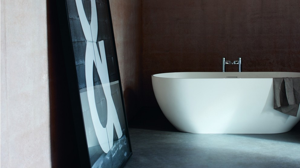 Buy Gareth Ashton Byron1500mm Stone Freestanding Bath Matt Surface ...
