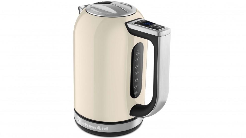 KitchenAid 1.7L Variable Temperature Kettle - Almond Cream