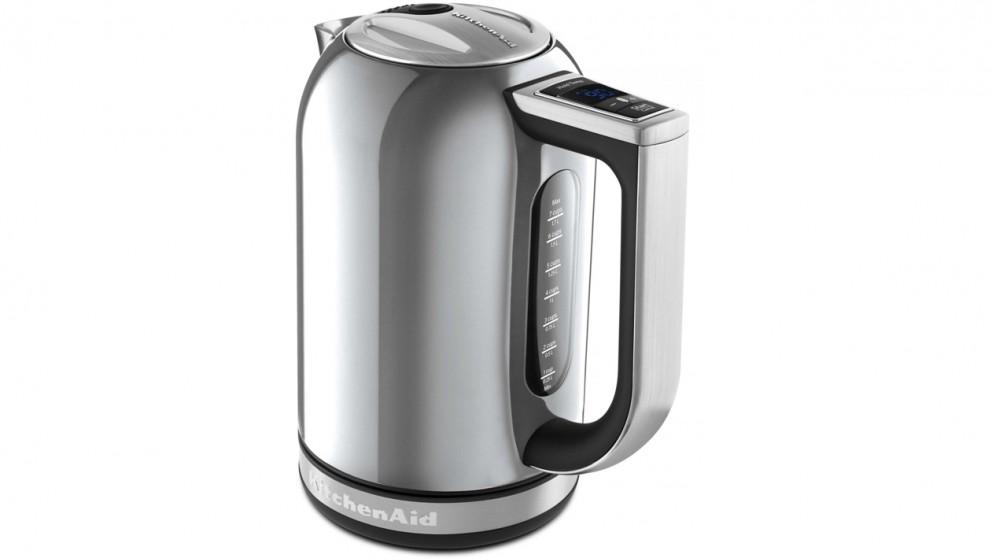 KitchenAid 1.7L Variable Temperature Kettle - Contour Silver