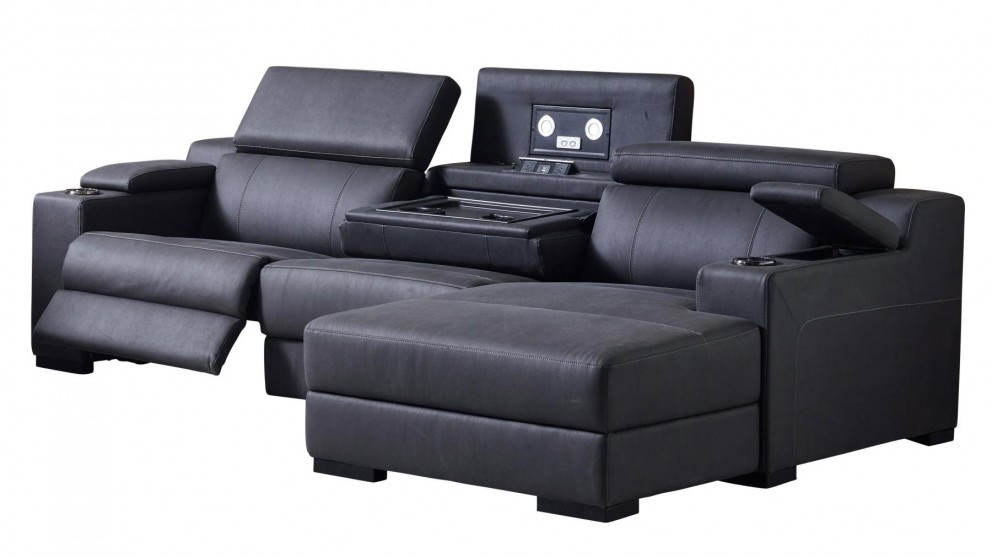 three seater recliner sofa 3 seat seattle 3seater powered fabric recliner sofa with chaise buy