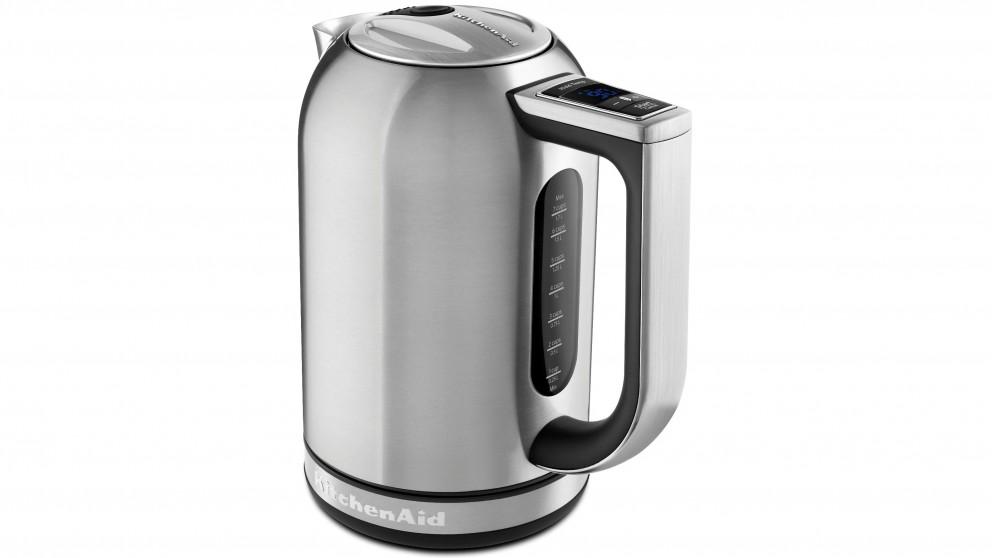 KitchenAid 1.7L Variable Temperature Kettle - Stainless Steel