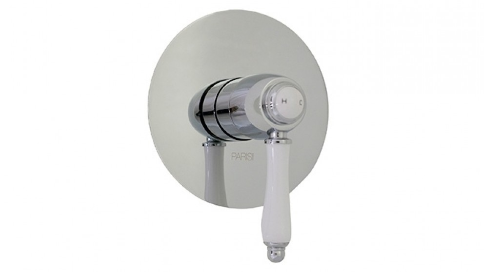 Parisi Hermitage Shower or Bath Wall-Mounted Mixer - Chrome