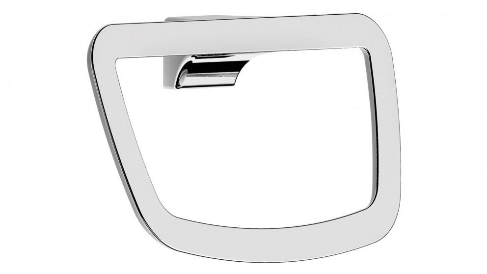 Arcisan Synergii Towel Ring - White/Chrome
