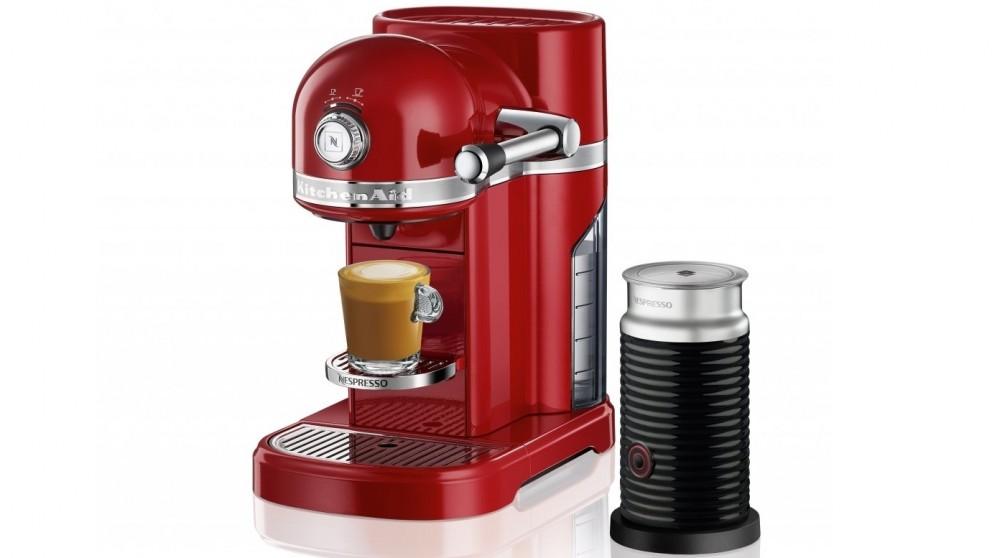 KitchenAid Nespresso Coffee Machine - Empire Red