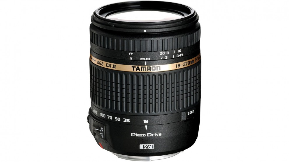 Tamron AF 18-270mm F/3.5-6.3 Di II VC PZD Lens for Nikon