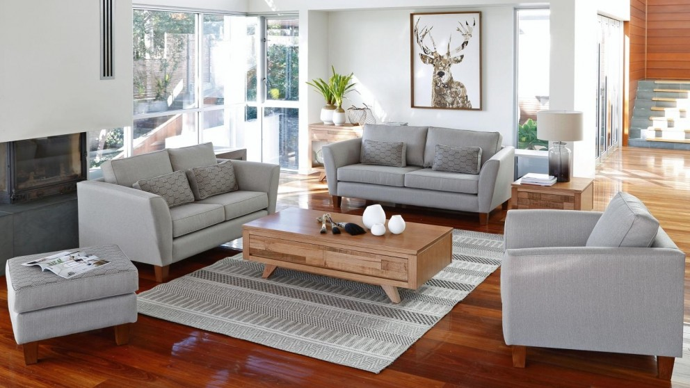 Buy Tuross 4848 Seater Fabric Sofa Harvey Norman AU Cool Harveys Living Room Furniture Property