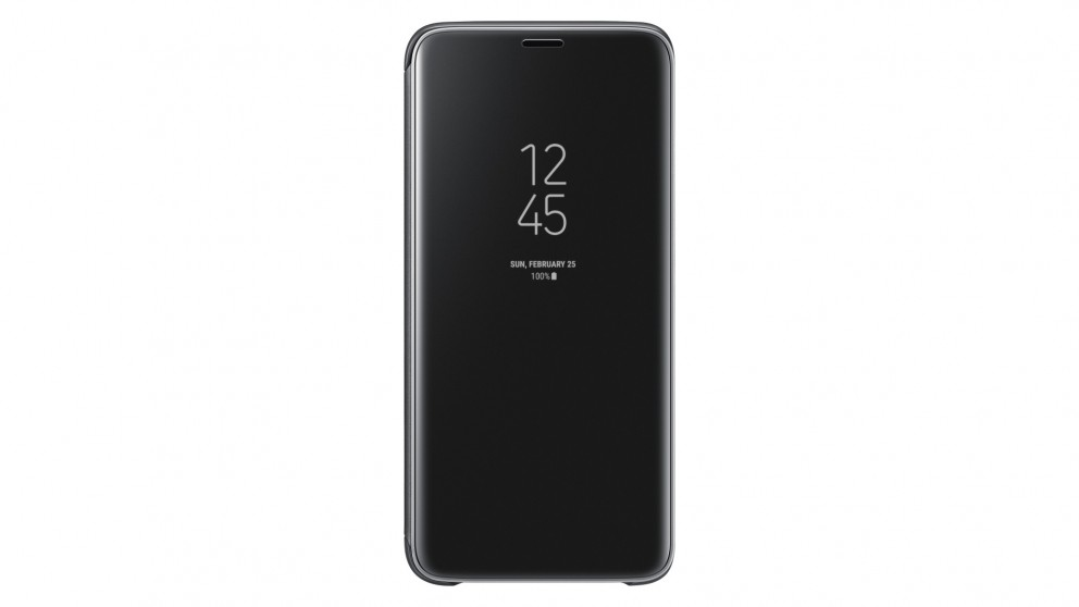 more photos 17e67 4f2b9 Samsung Galaxy S9 Clear View Stand Cover - Black