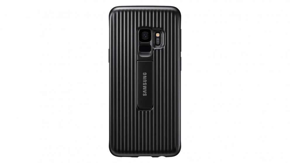 detailed look db399 a7482 Samsung Galaxy S9 Protective Standing Case - Black